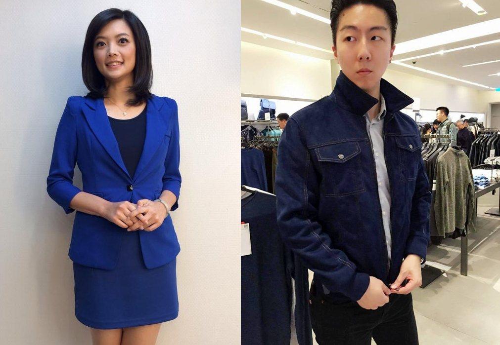 謝家璇與吳崢被爆戀愛ing。 圖/擷自臉書