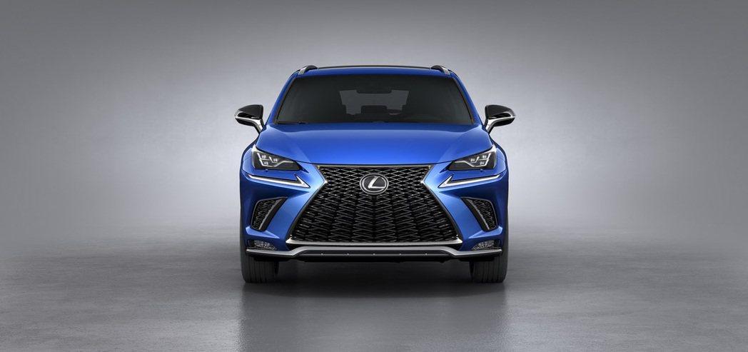 2018全新Lexus NX。圖/Lexus提供