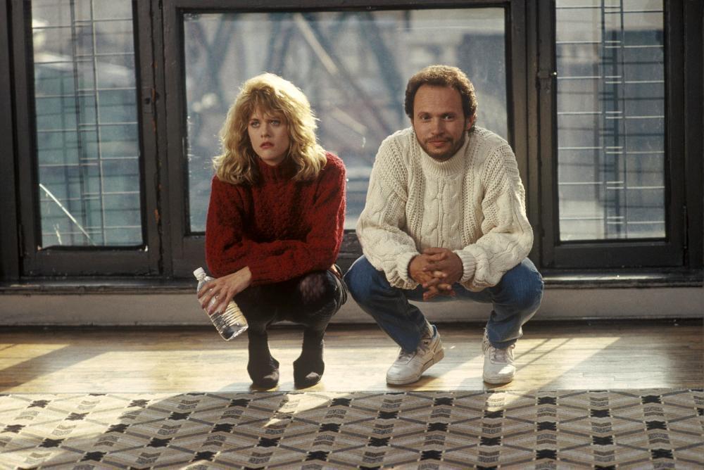 比利克里斯托與梅格萊恩在「當哈利碰上莎莉」對手戲頗有火花。圖/摘自Cineple...