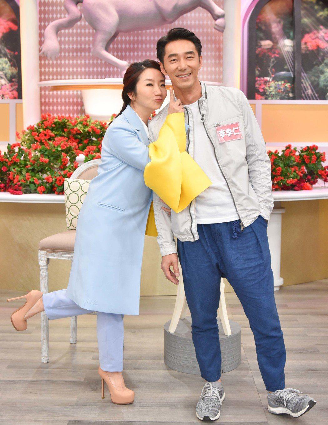 陶子在節目中拷問老公。圖/衛視中文台提供