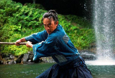 男星青柳翔主演的新片「鑪場武士」選擇在台灣舉行國際首映。圖/牽猴子提供