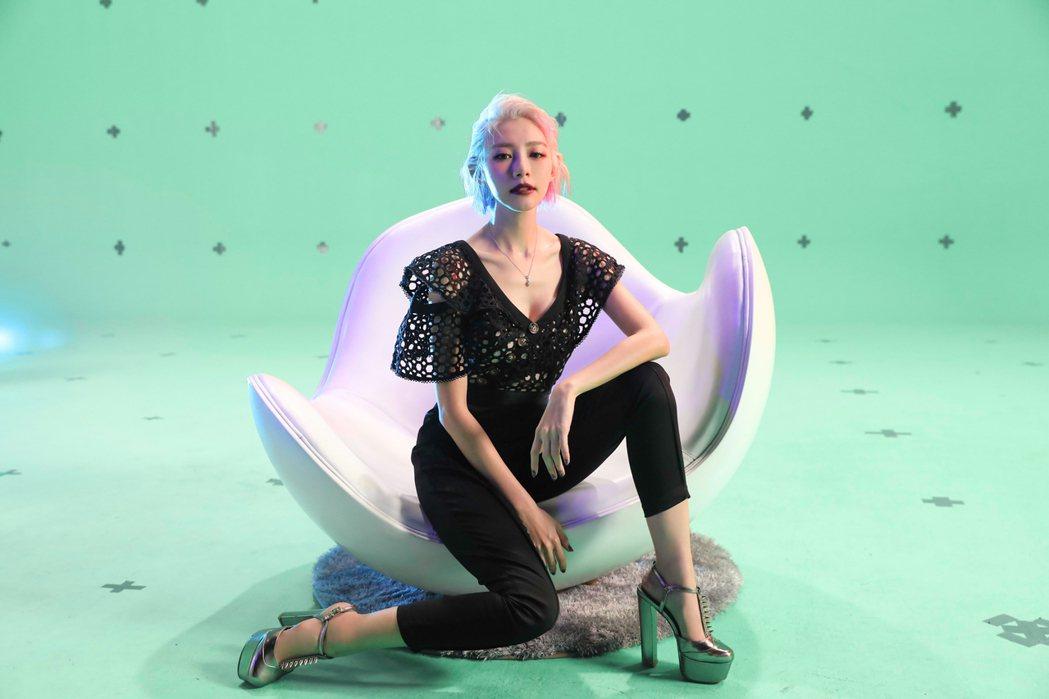 林明禎單曲「#Me」將在4月27日發行。圖/種子音樂提供