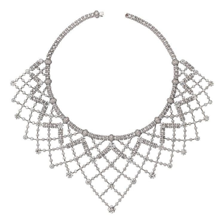 卡地亞Cartier Magicien頂級珠寶系列Sylphe鑽石項鍊,白K金,...