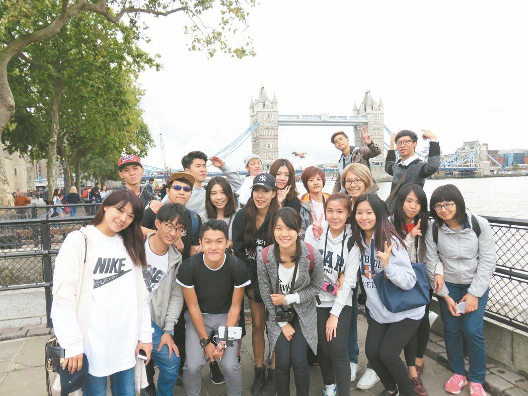 跟著聯合報資深領隊遊歐洲,不僅能提升英語能力,更能深度體驗倫敦。 圖/主辦單位提...