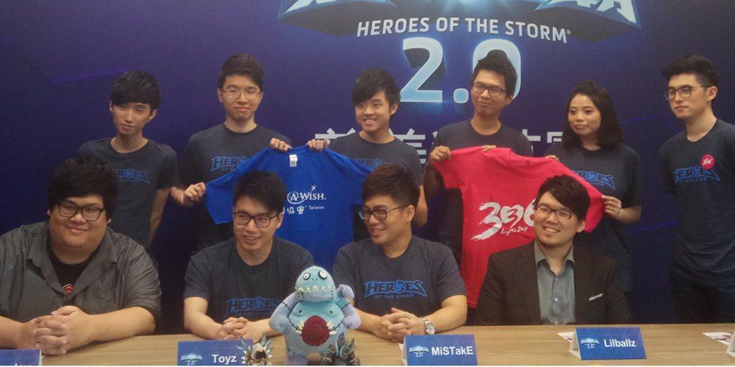 四位曾於《英雄聯盟》奪下S2世界冠軍的前TPA成員Toyz、Lilballz、M...