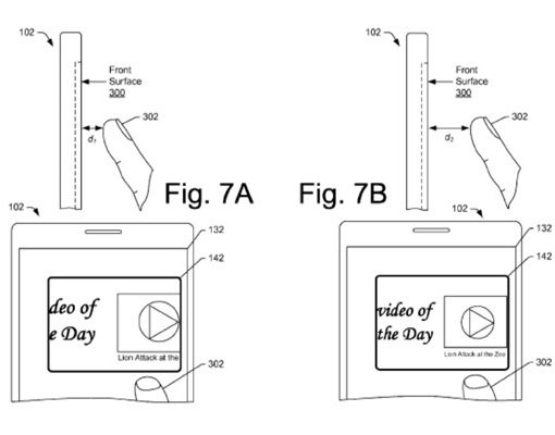 圖2. US Patent No. 9,594,489 圖7A~7B (圖片來源...