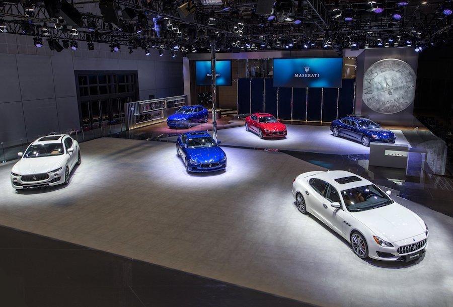 第10萬輛Maserati 上海車展亮相