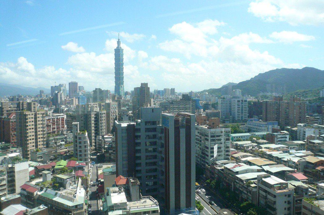最新實價資料指出,台北市房價連三年下修。本報資料照