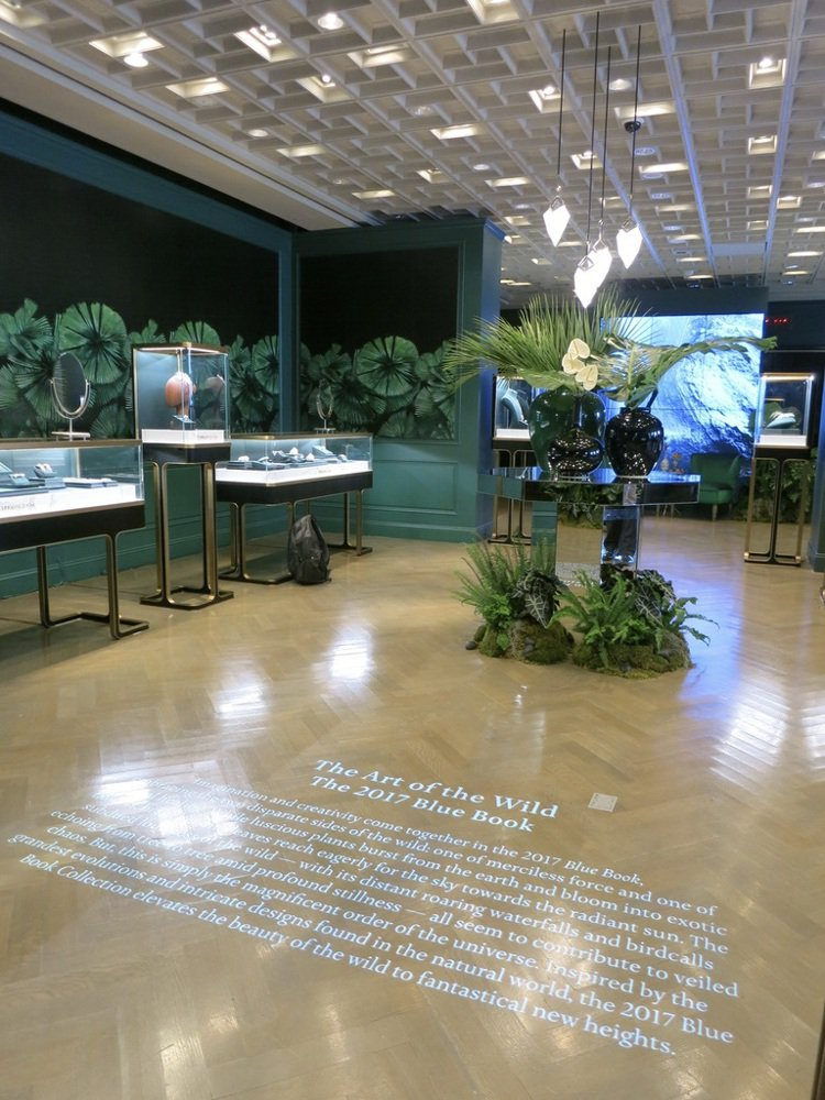 Tiffany於紐約第五大道旗艦店發表年度Blue Book系列高級珠寶,呼應今...