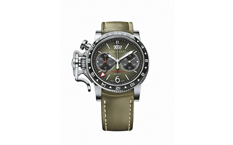 Graham Chronofighter Vintage GMT腕表,自動機芯,...