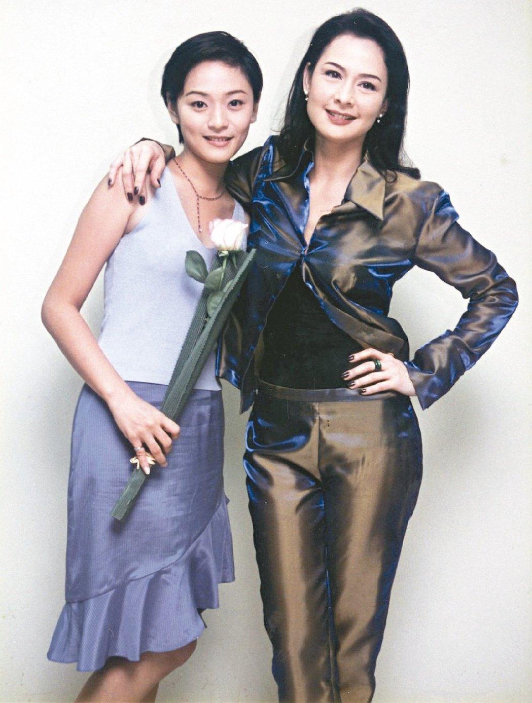 梁家榕(左)和席曼寧(右)是惡女始祖。 圖/報系資料照