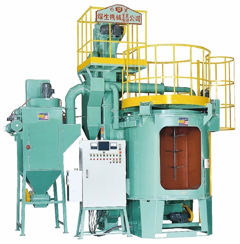 燿生機械專業製造雙軸連續吊式噴洗機。 燿生機械/提供
