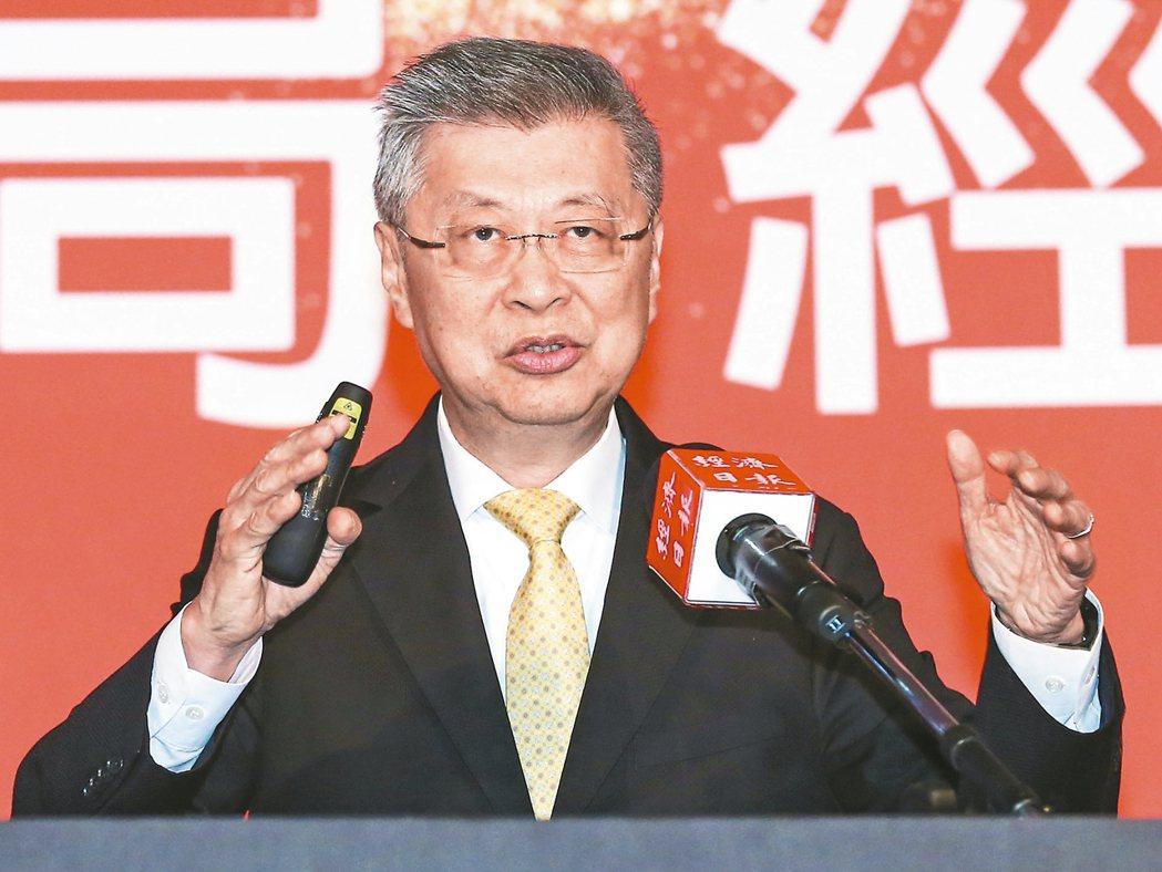 前行政院長陳冲昨天以「如砥如矢的世界不再」為題發表演說。 記者鄭清元/攝影