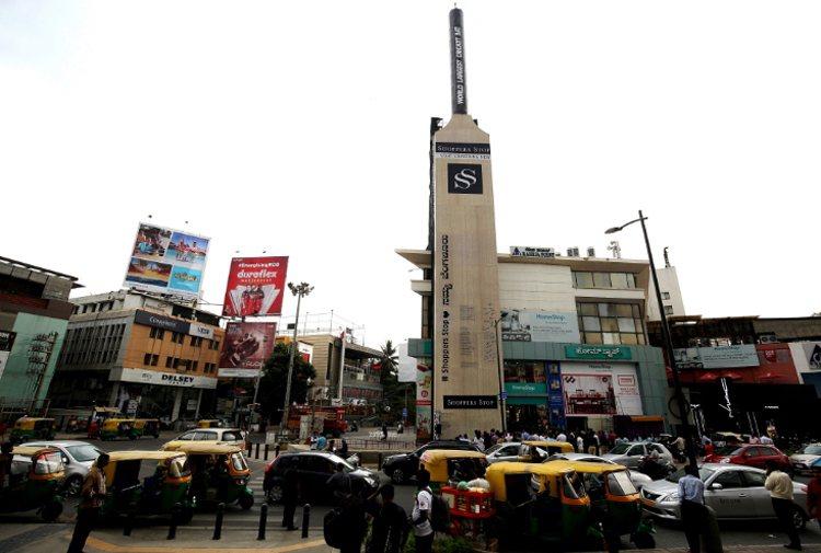 圖為印度市區。 歐新社