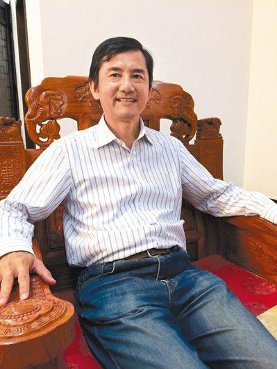 愛普董事長蔡國智。 聯合報系資料照