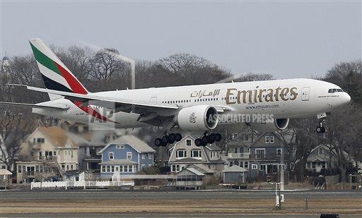 阿聯酋航空公司(Emirates Airline)將於6月開始,將波士頓的直飛航...