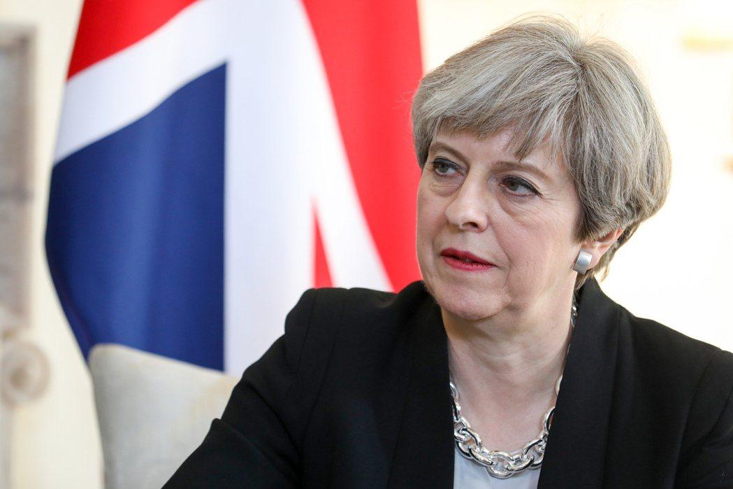 英國首相梅伊。圖/歐新社