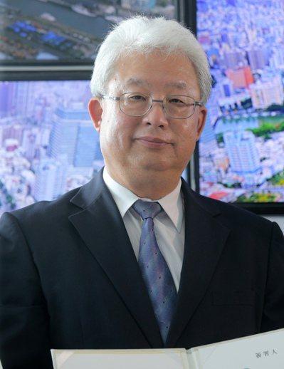 台電董事長朱文成。 聯合報系資料照