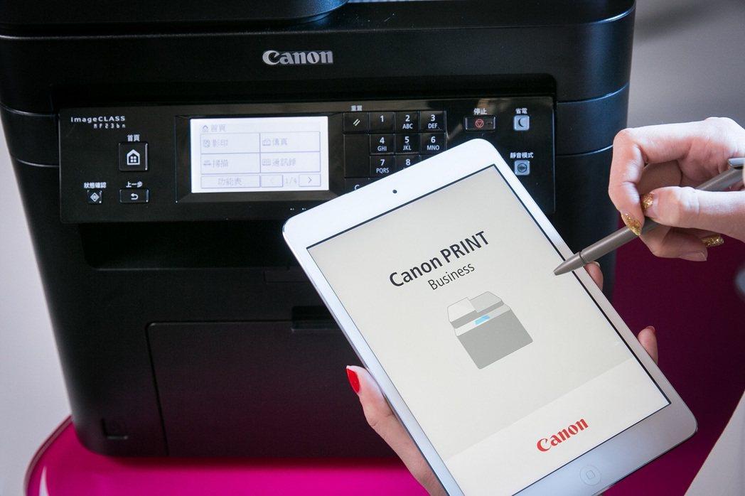 Canon imageCLASS MF 系列多功能雷射事務機均全面支援網路列印、...