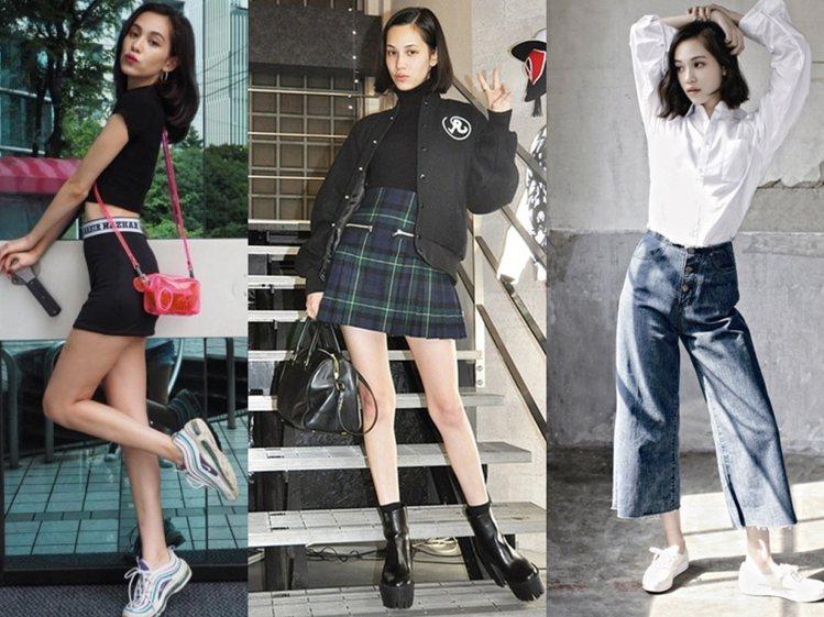 水原希子的穿搭時尚是許多女孩們的指標。圖/擷自instagram