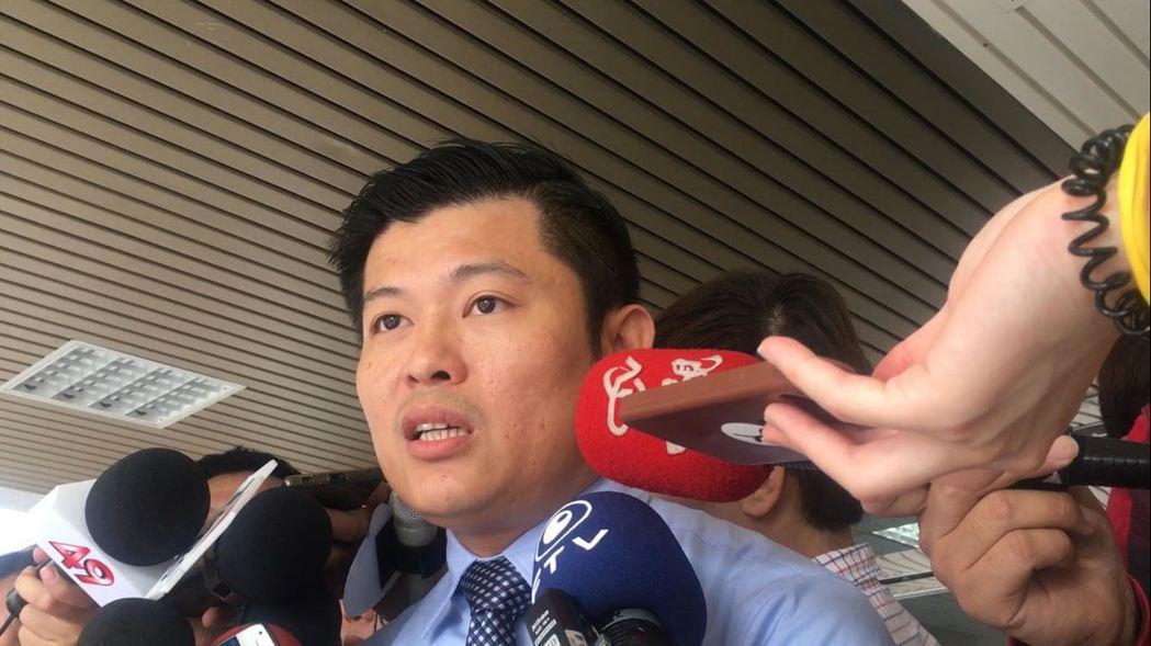江家委任律師趙文銘表示,江蕙因眩暈症無法出庭作證。記者李承穎/攝影