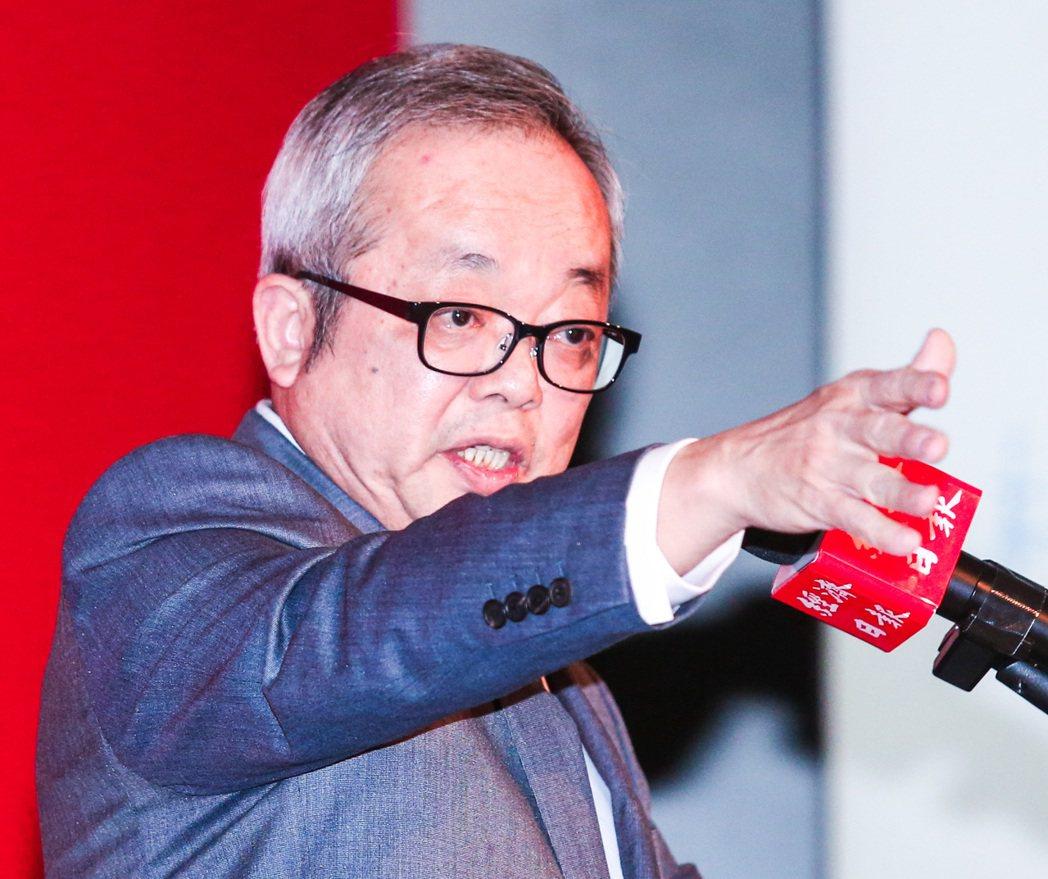 台灣證券交易所董事長施俊吉。記者鄭清元/攝影
