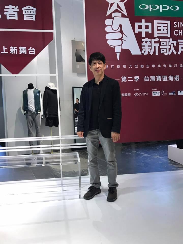 周杰倫的高中老師陳世光。記者梅衍儂/攝影