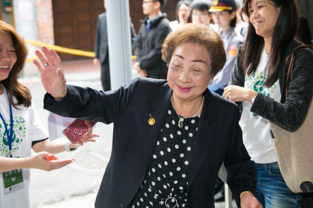 台灣目前所知僅存的三位慰安婦之一陳蓮花,93歲辭世。圖/婦援會提供