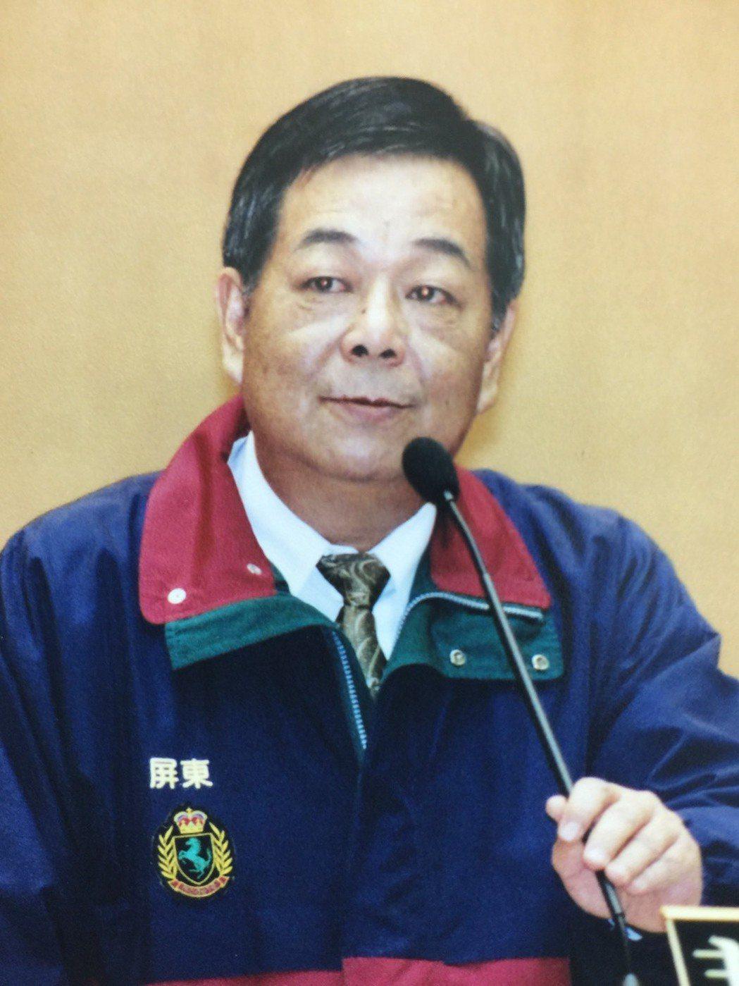 屏東縣議會前議長程清水將代理屏東市長。圖/讀者提供