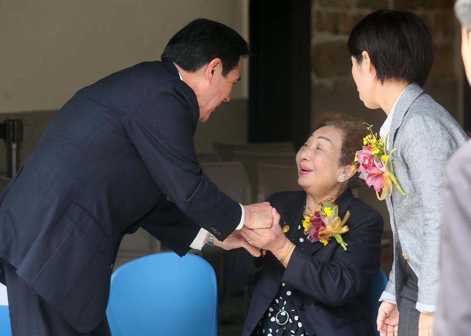 台灣3位「慰安婦」倖存者之一,陳蓮花阿嬤昨天逝世,享壽92歲。 前總統馬英九今在...