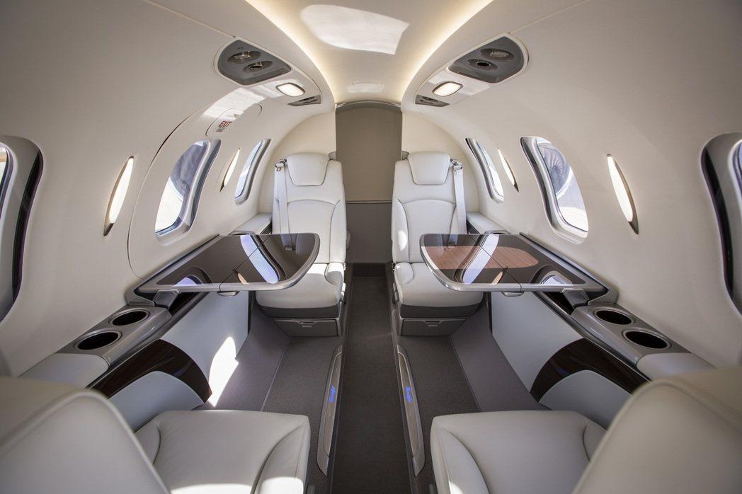 HondaJet座艙。圖/本田提供