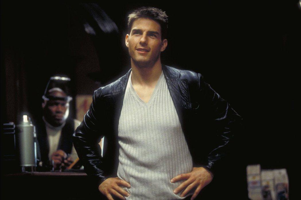 湯姆克魯斯拍「不可能的任務」首集時,是無數女性迷戀的英俊小生。圖/摘自imdb