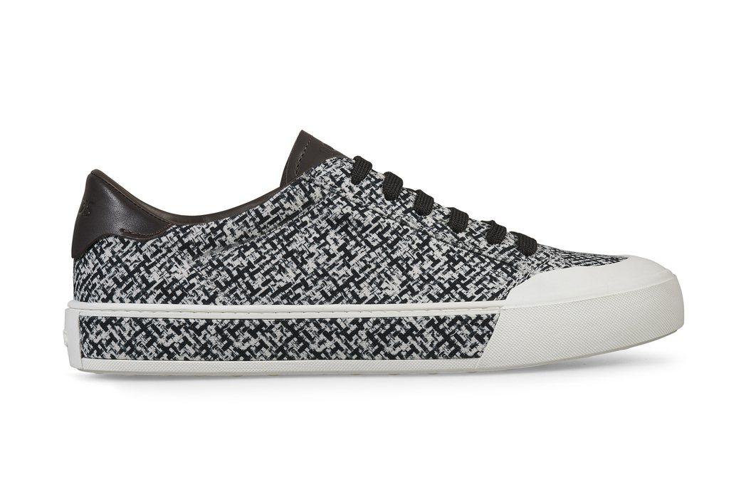 TOD'S黑白印花板鞋,21,400元。圖/迪生提供