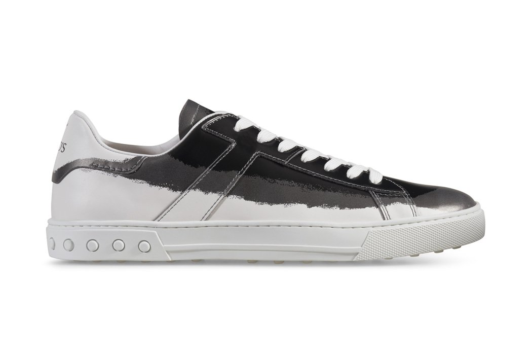 TOD'S暈染刷色繫帶板鞋,25,200元。圖/迪生提供