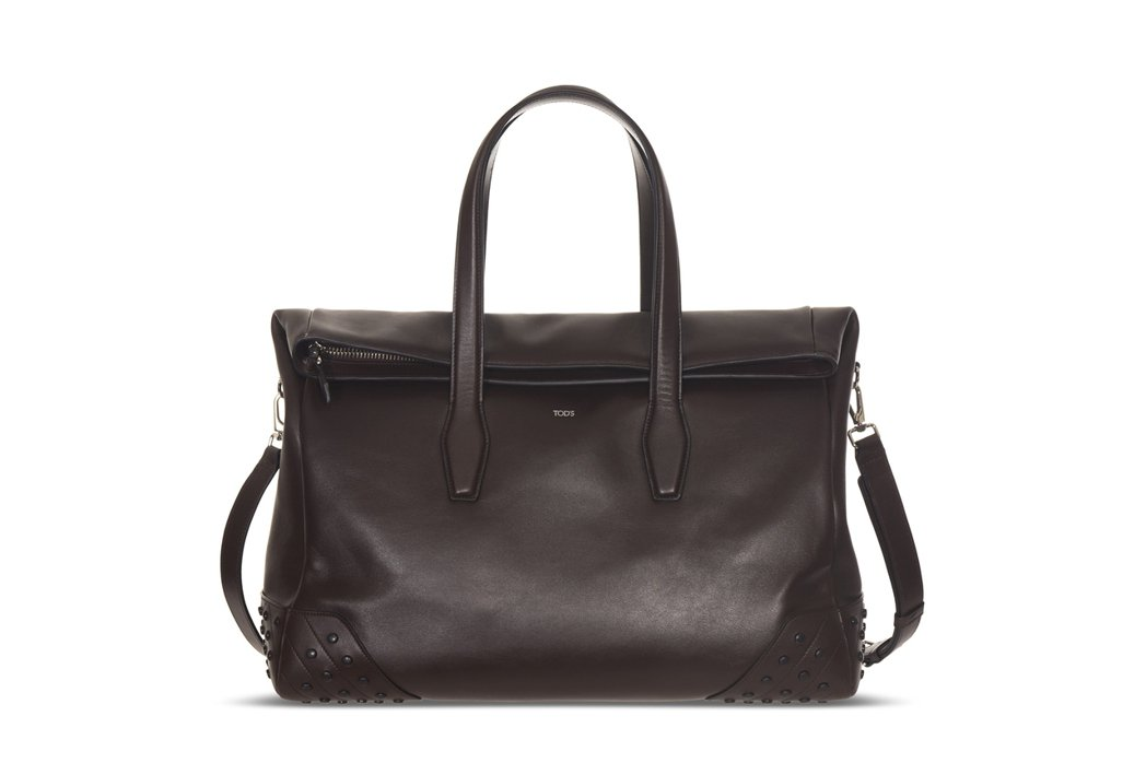 TOD'S豆豆元素Envelope男用手提包,72,800元。圖/迪生提供