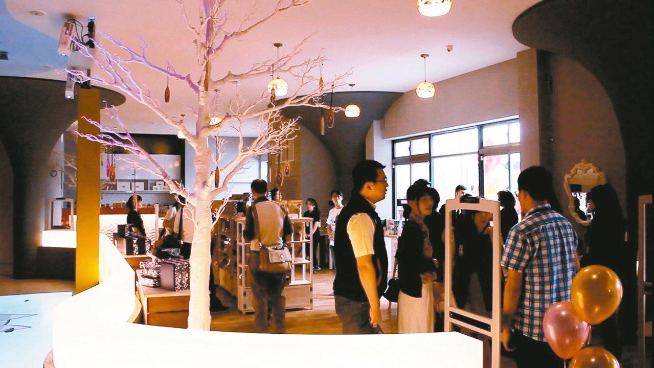 睿澤企業「亞洛美精靈國度」,是國內首間香氛產品觀光工廠。 記者林麒瑋/攝影