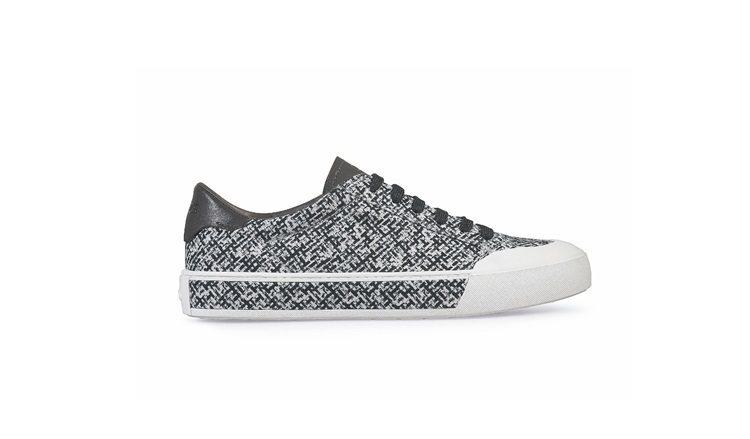 TOD'S黑白印花板鞋,21,400元。 圖/迪生提供
