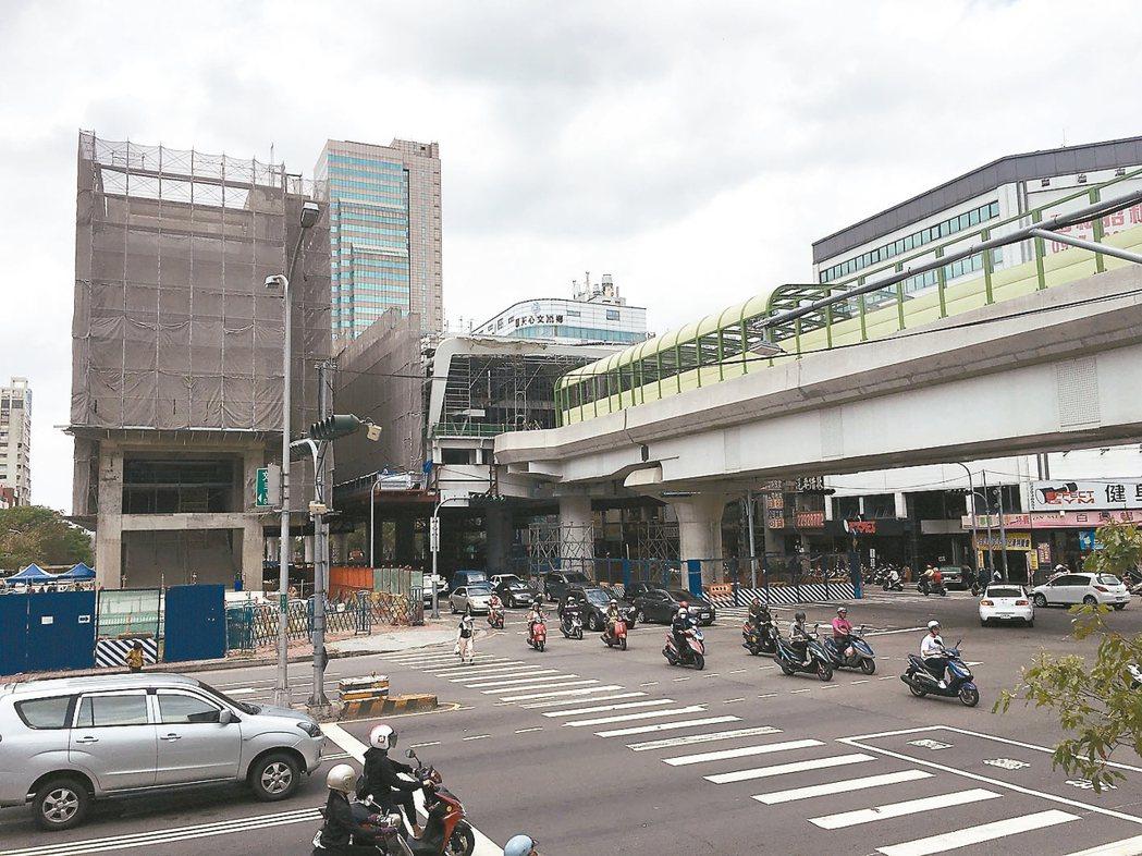 台中捷運綠線為房市帶來利多。 記者宋健生/攝影