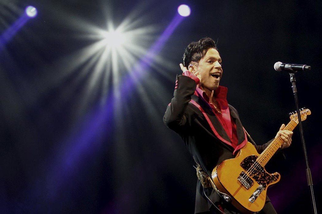 樂壇傳奇人物「王子」(Prince)。 圖/路透