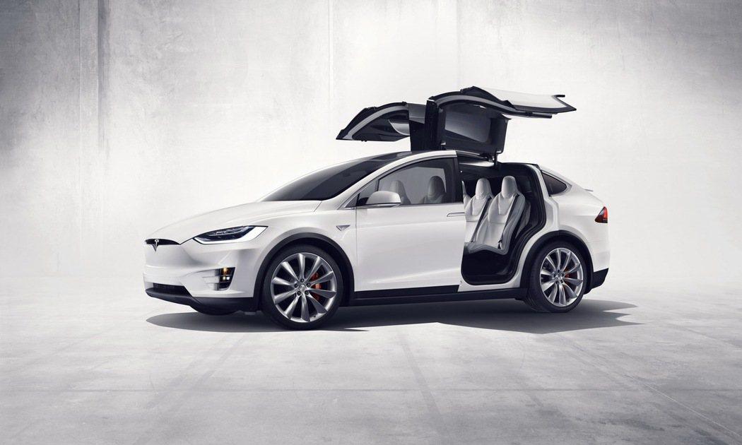 Tesla Model X。圖/Tesla提供