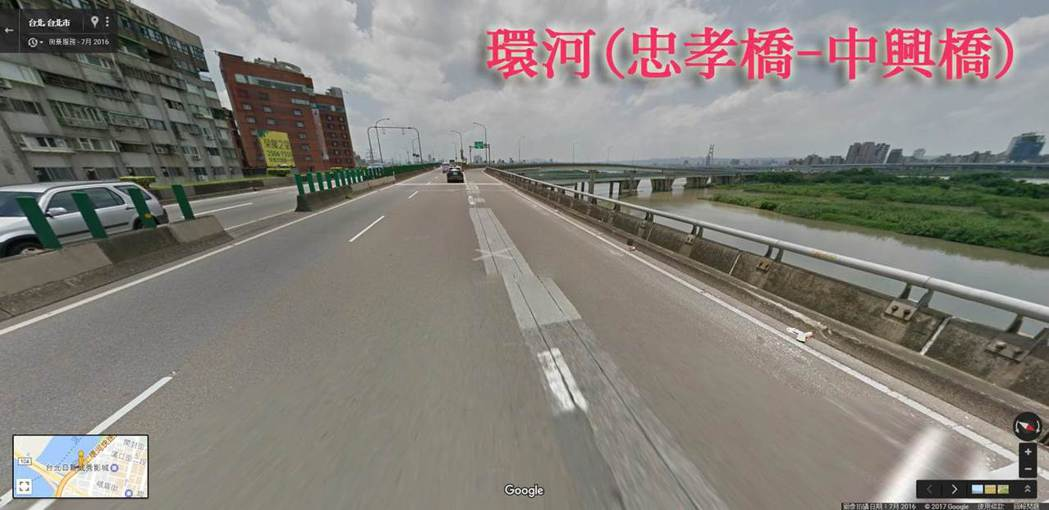 縱向伸縮縫成大型重機隱形殺手。圖/台灣機車路權促進會提供