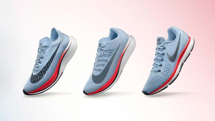 NIKE為協助跑者突破馬拉松2小時的紀錄 ,推Nike Zoom Vaporfl...