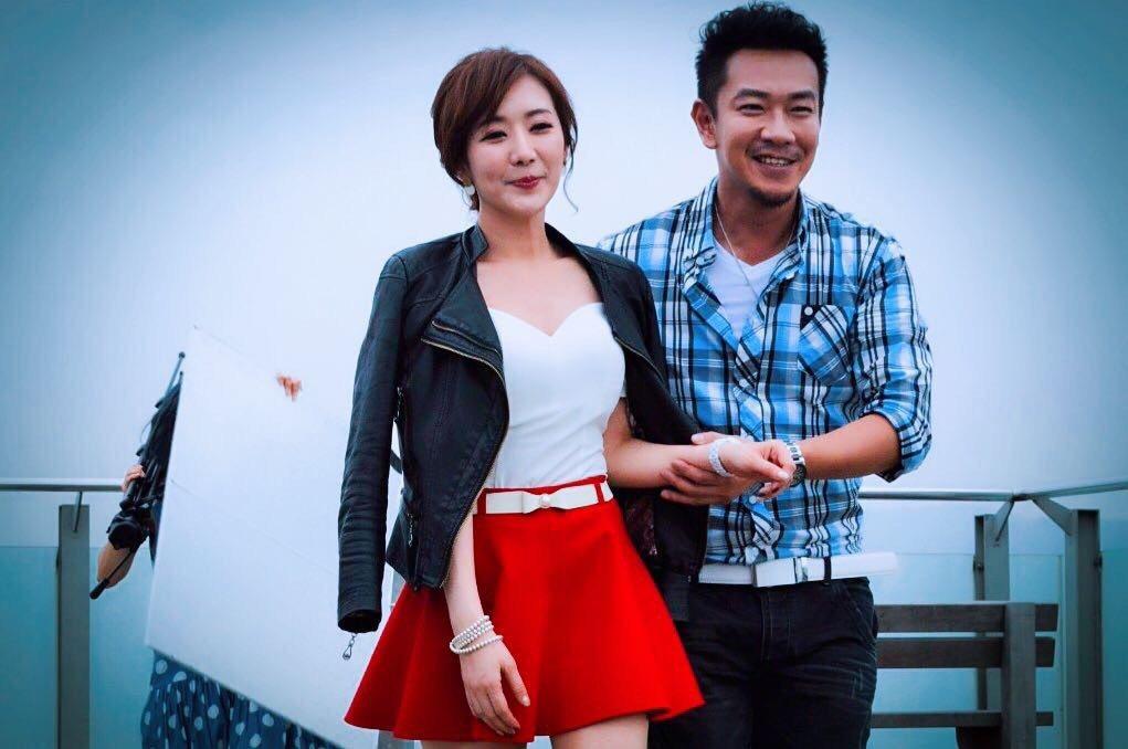 江俊翰拍MV,好友羅巧倫力挺客串。圖/十分幸音樂提供