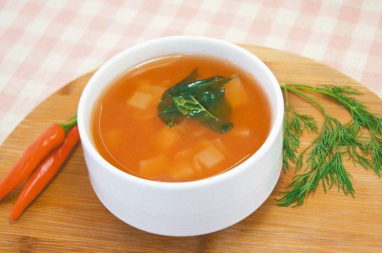 義式蔬菜湯。