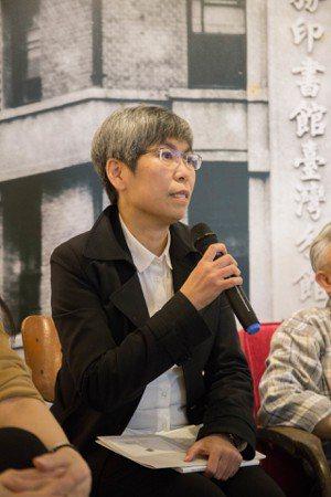 臺灣商務出版總編輯高珊。 攝影/蔡宜家