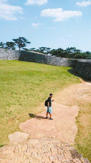 攝於聯合國世界遺產——琉球王國座喜味城跡。