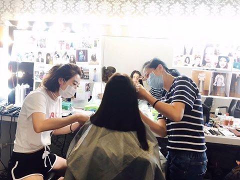 徐若瑄剪去20公分長髮。圖/取自臉書