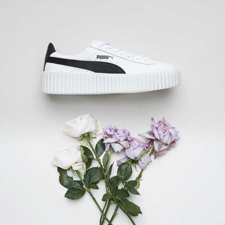 蕾哈娜為PUMA設計的Creeper厚底鞋。圖/PUMA提供