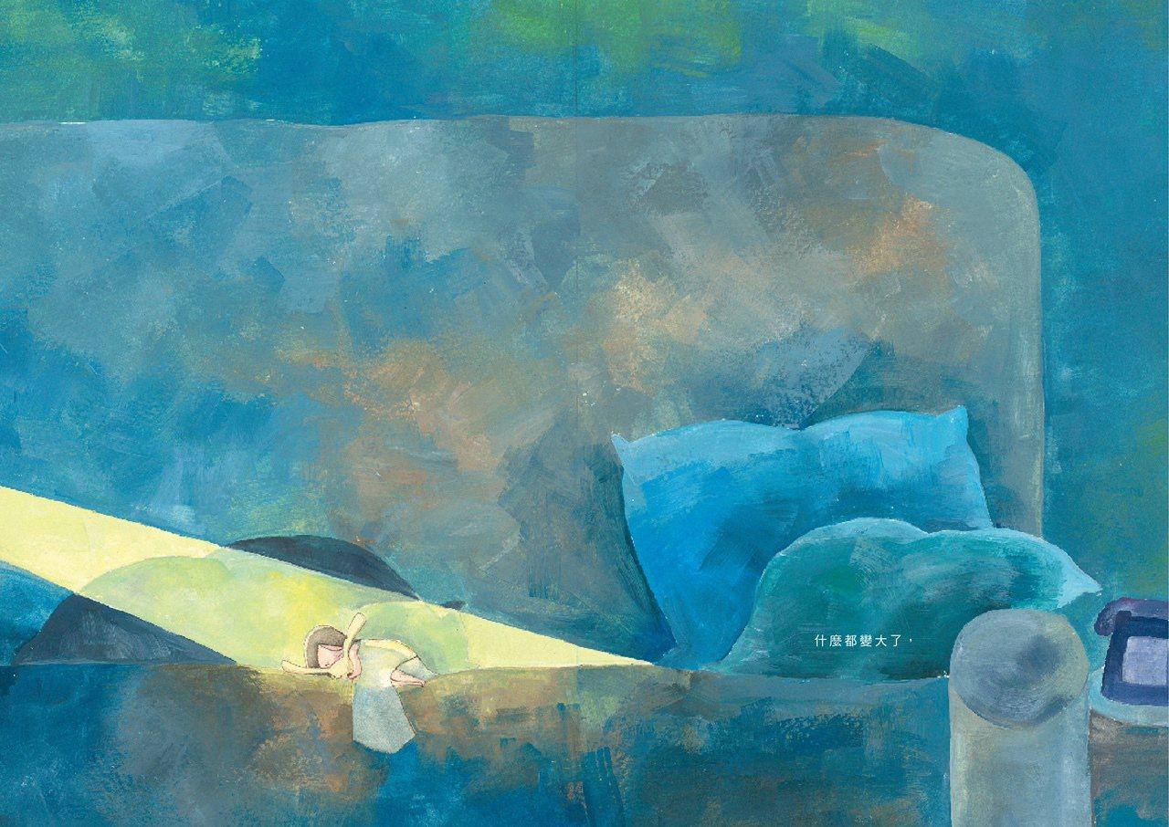 LUNA之森-繪本內頁。圖/駁二營運中心提供