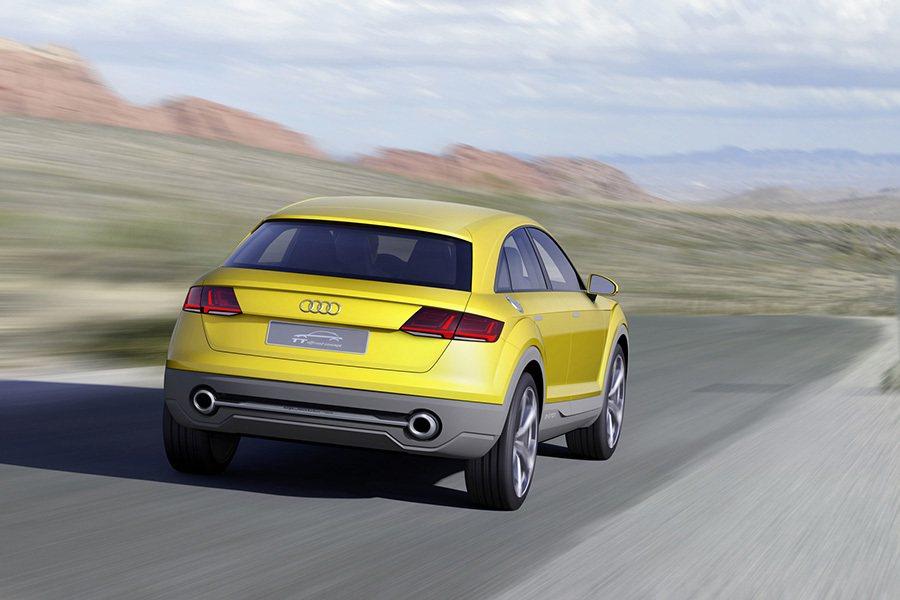 Audi TT Offroad Concept概念車 Audi提供